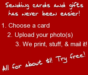 Sending cards has never been easier. Free trial!