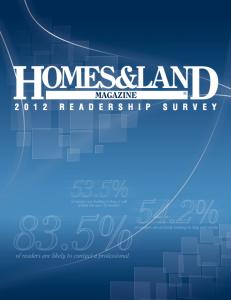 Homes & Land Readership Study