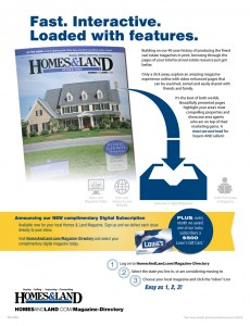 Subscribe to our Homes And Land digital magazine and you're entered to win a $500 Lowe's gift card!